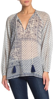 French Connection Anthemis Mix Folk Blouse