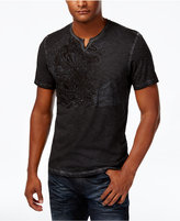 INC International Concepts Men's Embroidered Dragon T-Shirt, Only at Macy's