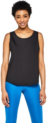 Amazon Brand - AURIQUE Women's Loose Fit Sports Tank Shirt