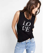 Express one eleven love muscle tank