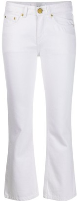 Victoria Victoria Beckham High Rise Kick Flare Jeans