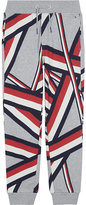 Tommy Hilfiger Geometric cotton-blend jogging bottoms 6-16 years