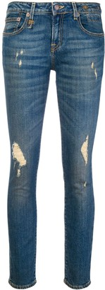 R 13 Emerson mid-rise skinny jeans