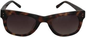Linda Farrow Brown Plastic Sunglasses