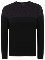 George Chunky Knit Colourblock Crew Neck Jumper