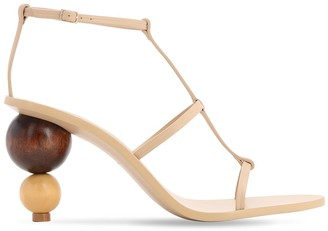 Cult Gaia 85mm Eden Heel Leather Sandals