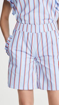 Kule The Roxy Ruffle Shorts