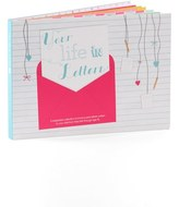 Your Life In Letters Keepsake Book