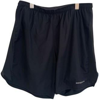 Patagonia Black Synthetic Shorts