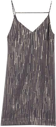 Equipment Tansie Sequin Stripe Dress