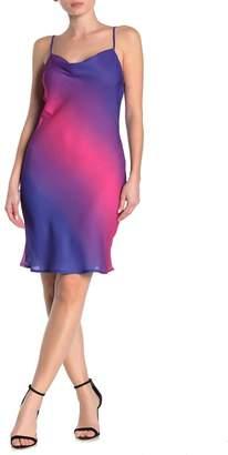 KENEDIK Ombre Midi Slip Dress