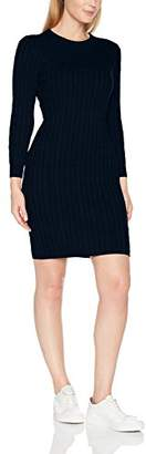 Gant Women's D1. Stretch Cotton Cable Dress,Large