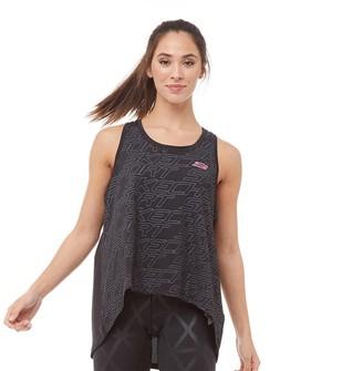 Skechers Womens Dharma Yoga Loose Fit Vest Black