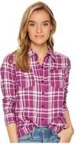 Hurley Wilson Long Sleeve Top Women's Long Sleeve Button Up