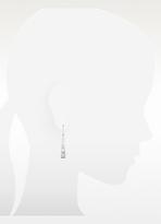 Kenzo Kyoto - Sterling Silver Ivory Flower Drop Earrings