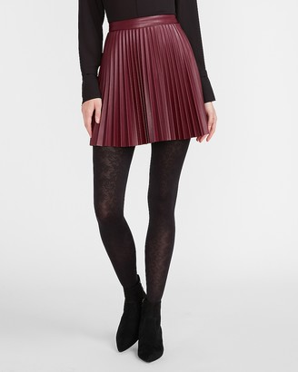 Express Opaque Floral Lace Tights