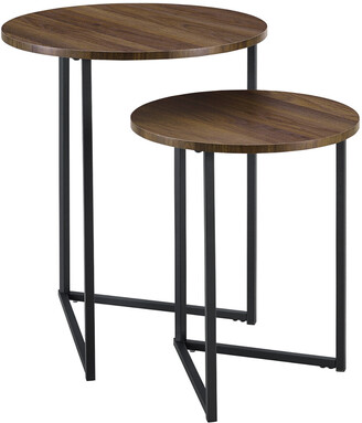 Hewson 2-Piece V-Leg Nesting Side Tables