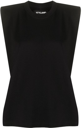 Styland Padded Shoulder Tank Top