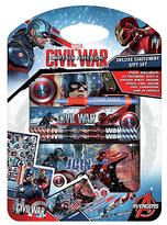 Marvel Captain America Deluxe Stationery Set