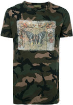 Valentino butterfly print T-shirt - men - Cotton - S