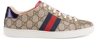 Gucci New Ace GG Supreme Sneakers