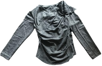 Isabel Marant Grey Wool Top for Women