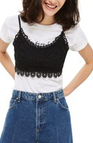 Topshop Petite Women's Crochet Bralette