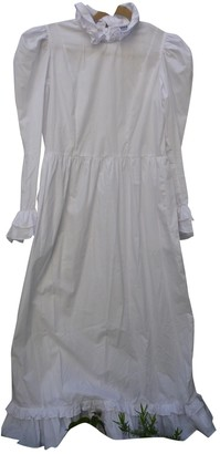 Batsheva White Cotton Dresses