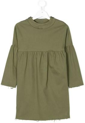 Andorine Frayed Hem Dress