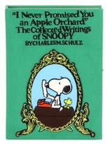 Olympia Le-Tan Charles Schulz Snoopy Book Clutch