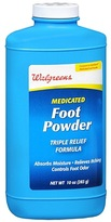 Walgreens Medicated Foot Powder