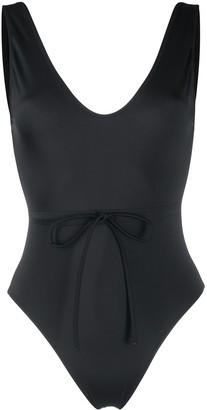 Solid & Striped Michelle tie-waist swimsuit