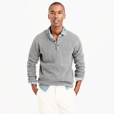 J.Crew Lambswool thermal henley sweater