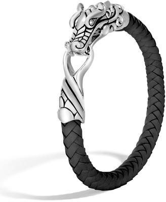 John Hardy Legends Naga Leather Bracelet