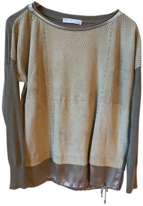 Fabiana Filippi Grey Suede Knitwear for Women
