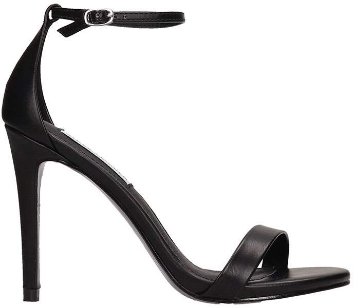 4e7eb6c0d0 Steve Madden Black Leather Strap Sandals For Women - ShopStyle Canada
