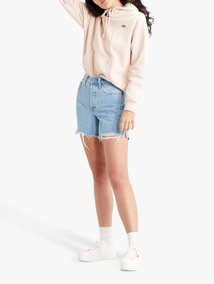 Levi's Standard Single Front Pocket Hoodie, Sepia Rose