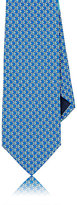 Salvatore Ferragamo Men's Fish-Print Silk Necktie