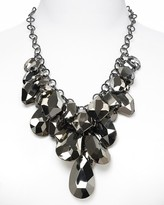 R.J. Graziano Chain and Resin Cluster Necklace