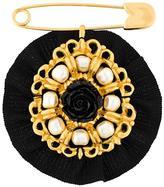 Dolce & Gabbana round brooch