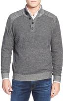 Toscano Plaited Mock Neck Sweater