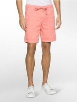 Calvin Klein Faded Poplin Shorts