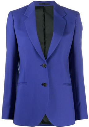Paul Smith Fitted Button Down Blazer