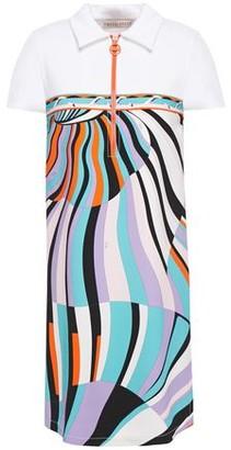 Emilio Pucci Printed Ponte Mini Dress