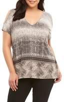 Tart Plus Size Women's Rocky Cold Shoulder Top