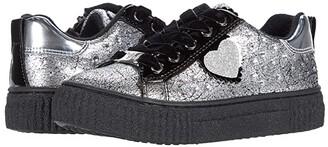 Primigi 64545 (Toddler/Little Kid) (Silver/Black) Girl's Shoes