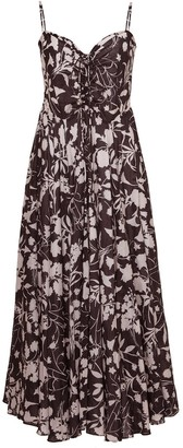 Cara Cara Maidstone Cinch Bust Midi Dress