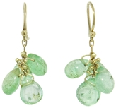 Ten Thousand Things Emerald Cluster Earrings