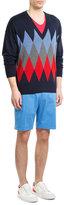Ami Cotton Shorts