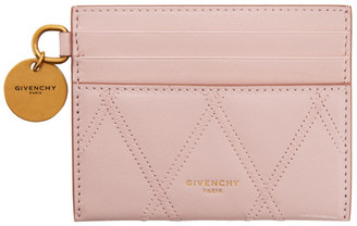 Givenchy Pink GV3 Card Holder